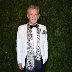Ian McKellen en los Evening Standard Theatre Awards 2014