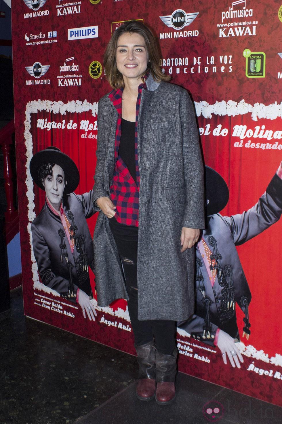 Sandra Barneda En El Reestreno De Miguel De Molina Al Desnudo