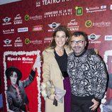 Raquel Sánchez Silva y Jorge Javier Vázquez en el reestreno de 'Miguel de Molina al desnudo'