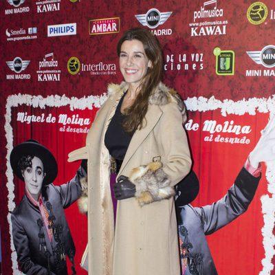 Raquel Sánchez Silva en el reestreno de 'Miguel de Molina al desnudo'