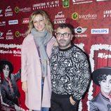 Susanna Griso y Jorge Javier Vázquez en el reestreno de 'Miguel de Molina al desnudo'