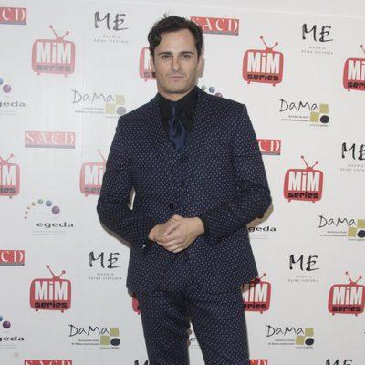 Asier Etxeandía en los Premios MiM Series 2014