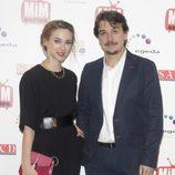 Marta Hazas y Javier Veiga en los Premios MiM Series 2014