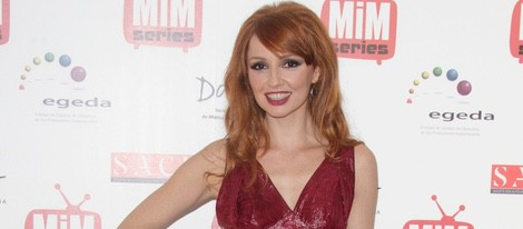 Cristina Castaño en los Premios MiM Series 2014
