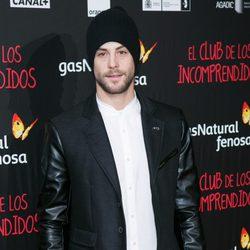 Luis Fernández en el estreno de 'El Club de los Incomprendidos'