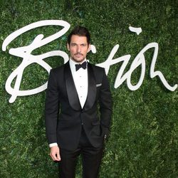 David Gandy acude a los 'British Fashion Awards 2014' en Londres