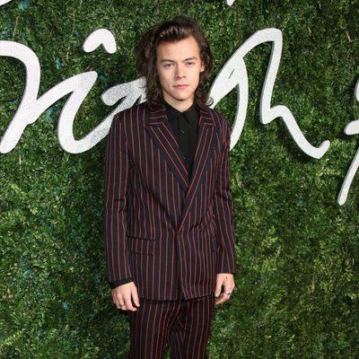 Harry Styles acude a los 'British Fashion Awards 2014' en Londres