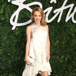Kylie Minogue acude a los 'British Fashion Awards 2014'en Londres