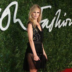 Poppy Delevingne acude a los 'British Fashion Awards 2014' en Londres