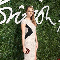 Cara Delevingne acude a los 'British Fashion Awards 2014' en Londres