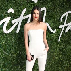 Kendall Jenner acude a los 'British Fashion Awards 2014' en Londres