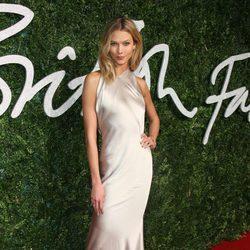 Karlie Kloss acude a los 'British Fashion Awards 2014' en Londres