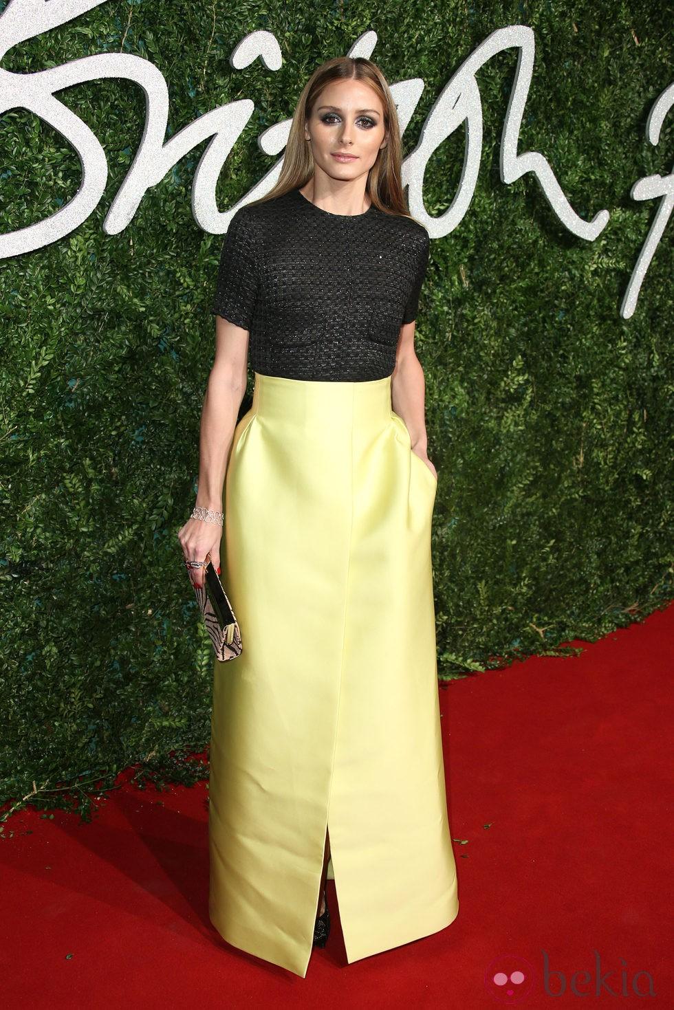 Olivia Palermo acude a los 'British Fashion Awards 2014' en Londres