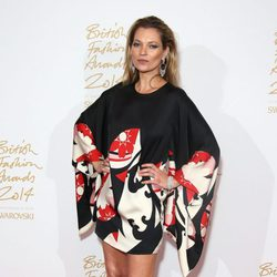 Kate Moss acude a los 'British Fashion Awards 2014' en Londres