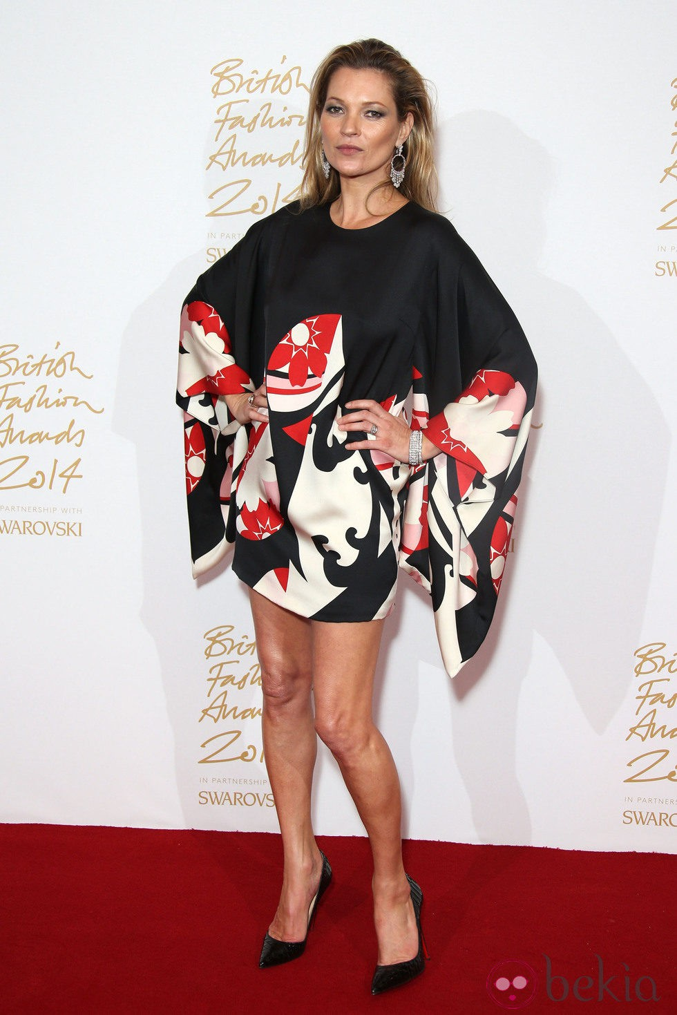 Kate moss acude a los 39 british fashion awards 2014 39 en for British mode