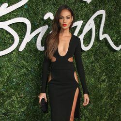 Joan Smalls acude a los 'British Fashion Awards 2014' en Londres