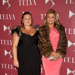 Caritina Goyanes y Cari Lapique en los Premios T de Telva 2014
