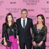 Jose Mourinho en el desfile anual de Victoria's Secret 2014