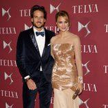 Feliciano López y Alba Carrillo en los Premios T de Telva 2014