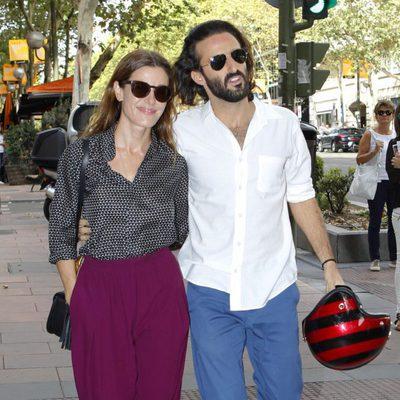 Raquel Sánchez Silva y Matías Dumont en Madrid