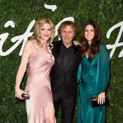 Courtney Love, Renzo Rosso y Lana Del Rey acuden a los 'British Fashion Awards 2014' en Londres