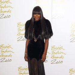 Naomi Capmbell acude a los 'British Fashion Awards 2014' en Londres