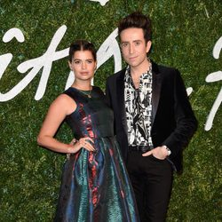 Pixie Geldof y Nick Grimshaw acuden a los 'British Fashion Awards 2014' en Londres