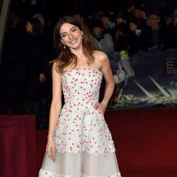 María Valverde en el estreno mundial de 'Exodus' celebrado en Londres