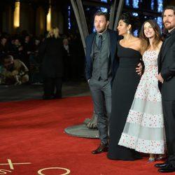 Joel Edgerton, Golshifteh Farahani, Maria Valverde y Christian Bale en el estreno mundial de 'Exodus'