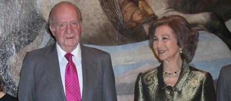 Los Reyes Juan Carlos y Sofía inauguran la exposición 'El Retrato en las Colecciones Reales'