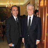 Pepe de Lucía y Carlos Fitz-James Stuart en la entrega de los Premios Plaza de España