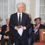 El Duque de Huéscar en la entrega de los Premios Plaza de España