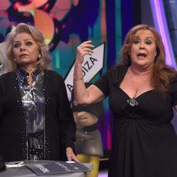 Mayra Gómez Kemp y Fedra Lorente en 'El Hormiguero'