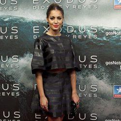 Hiba Abouk en el estreno de 'Exodus' en Madrid