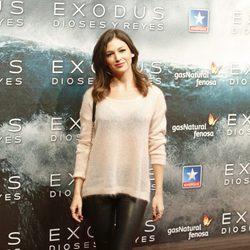 Úrsula Corberó en el estreno de 'Exodus' en Madrid