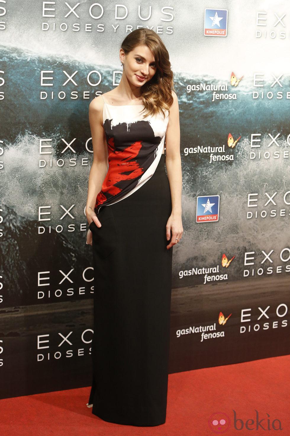 María Valverde en el estreno de 'Exodus' en Madrid