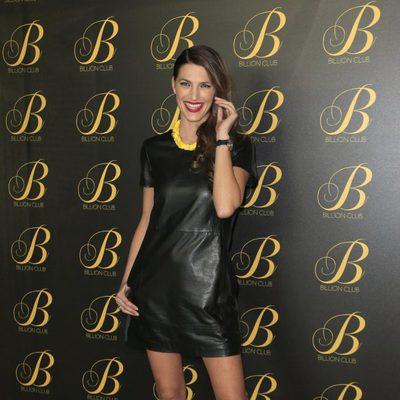 Laura Sánchez en la inauguración del local 'Billion Club' en Madrid