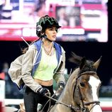 Carlota Casiraghi montando a caballo en el torneo hípico 'Style & Competition' del 'Master Gucci' en París