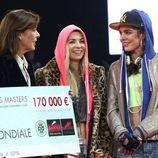Carlota Casiraghi y su madre, la Princesa Carolina de Mónaco, en el 'The Style & Competition for AMADE'