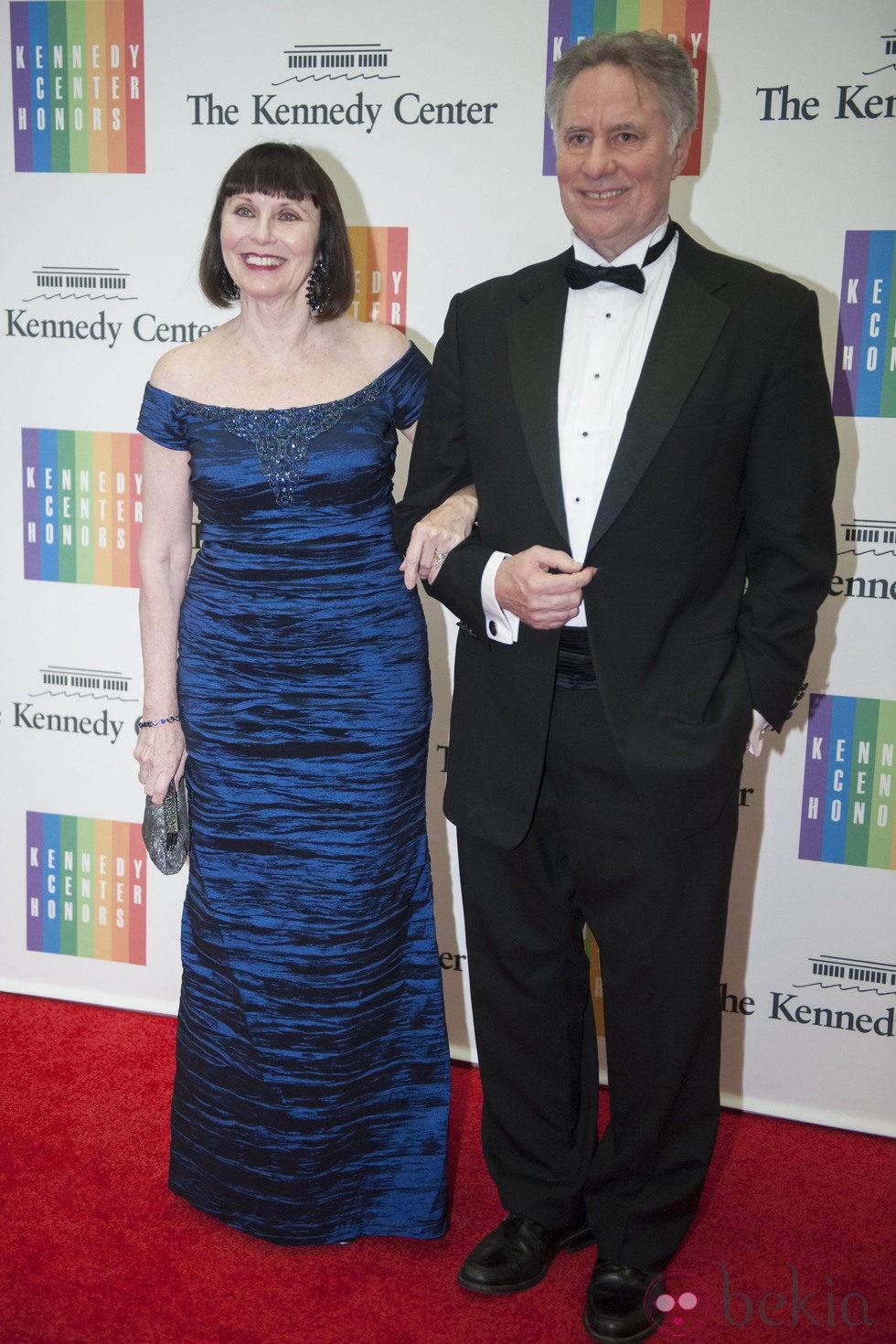 Patricia McBride y Jean-Pierre Bonnefoux en la entrega del Premio Kennedy 2014
