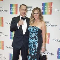 Tom Hanks y Rita Wilson en la entrega del Premio Kennedy 2014