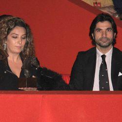 Estrella Morente y Javier Conde en los Premios SICAB 2014