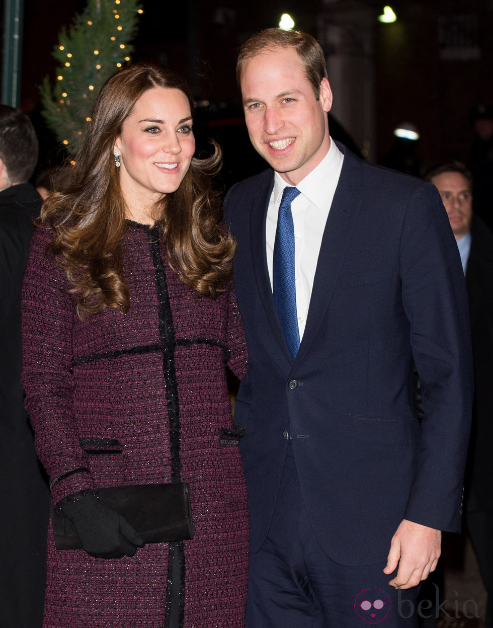 Kate Middleton y el Príncipe Guillermo a su llegada a Nueva York
