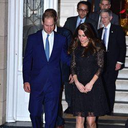 Kate Middleton y el Príncipe Guillermo acuden a una cena privada en Nueva York