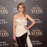 Erin Richard en el estreno de 'Into the Woods' en Nueva York