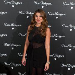 Silvia Casas en una fiesta organizada por la marca de champán Dom Perignon