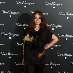 Ana Locking en una fiesta organizada por la marca de champán Dom Perignon