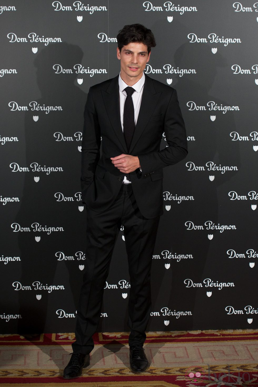 Javier de Miguel en una fiesta organizada por la marca de champán Dom Perignon