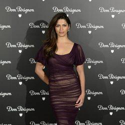 Camila Alves en una fiesta organizada por la marca de champán Dom Perignon