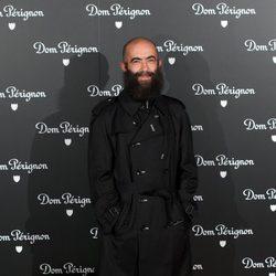 Carlos Díez en una fiesta organizada por la marca de champán Dom Perignon